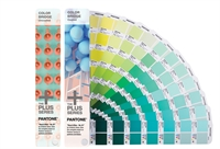 Pantone Plus (PMS) Color Bridge Guide Set Coated+Uncoated sæt 2 vifter Pantone C+U og nærmeste CMYK/CP+UP 1845 farver