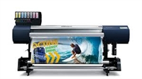 SOLJET INK JET, 64 INCH, PRINT ONLY INCL. TAKE-UP & BOTTLE INK UNIT #EJ-640