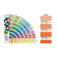 Pantone Plus (PMS) Bridge to Seven sæt 2 vifter Color Bridge Coated + Extended Gamut Guide Coated 7-farve (2015-005S)